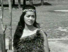 Click this image from the Tutanekai and Hinemoa clip to view the video. Image copyright: TVNZ.