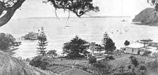 Home Bay, 1900. Photo: copyright DOC.
