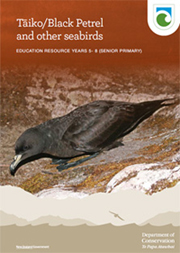 Taiko/black petrel resource cover.