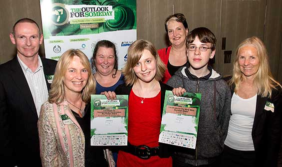 From left to right: John Galilee (DOC), Nikki Wright (DOC), Helen Rowlands ( DOC), Natasha Bishop, Felicity Laurence ( DOC), Tye Bishop (Natasha's bother) and Annie Wheeler (DOC).