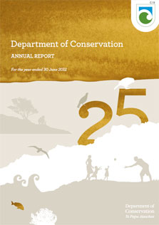 Cover of the Annual Report for year ended 30 June 2012