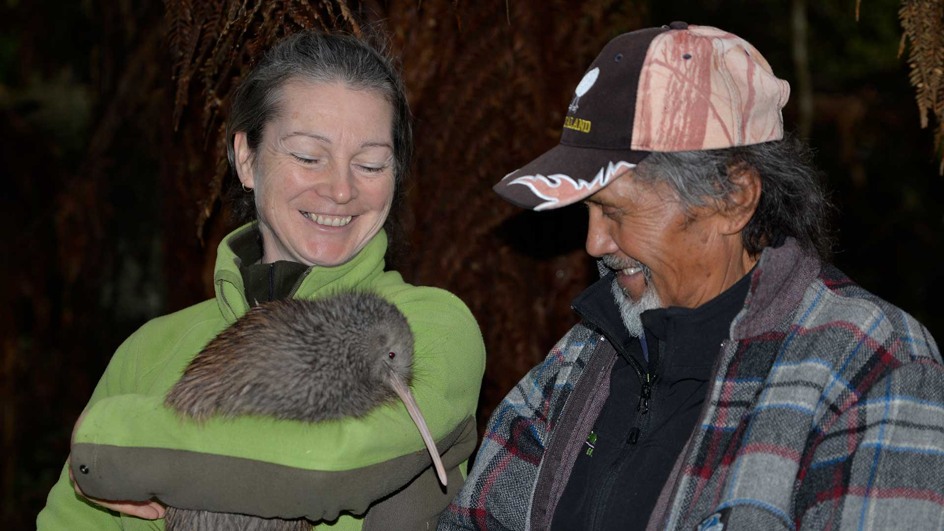 Queenstown kiwi go into the wild in Whirinaki