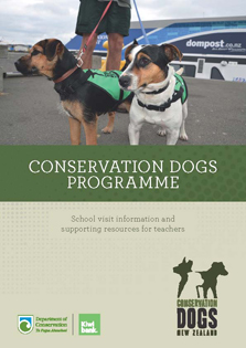 Conservation dogs programme cover.