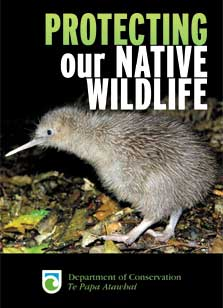 Protecting our native wildlife: Pest control
