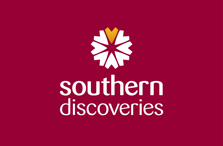 Southern Discoveries logo.