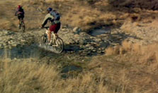 Click this image from the Mountain Biking clip to view the video. Image copyright: TVNZ.