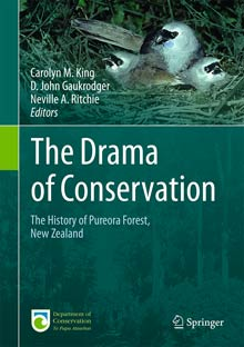 The drama of conservation book cover.