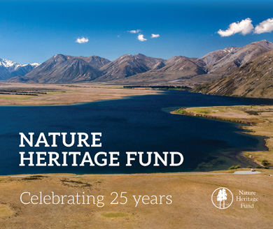 Nature Heritage Fund celebrating 25 years.