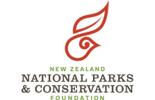 New Zealand National Parks and Conservation Foundation logo.