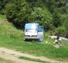 Danseys Pass campsite.