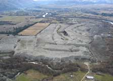 Earnscleugh tailings aerial view.