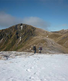 Hikurangi Range in snow. Photo: Katie Grinsted.