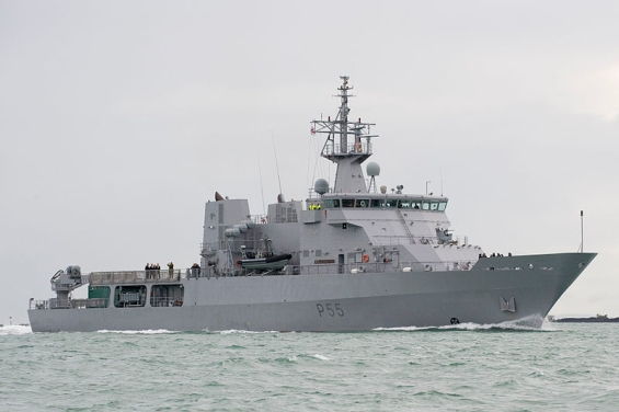 HMNZS Wellington.