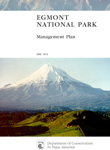 Egmont National Park Management Plan 2002/2012