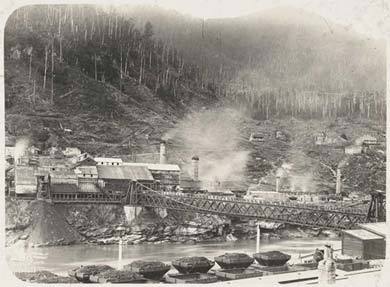 Brunner mine at its peak.
