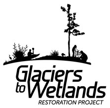 Glaciers to Wetlands logo.