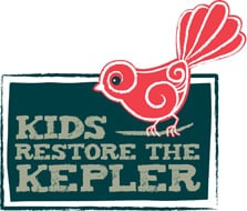 Kids Restore the Kepler official logo.