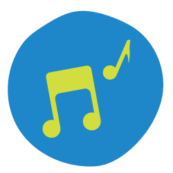 Create a nature song icon.