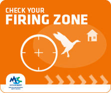 Check your firing zone.