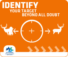 Identify your target beyond all doubt.
