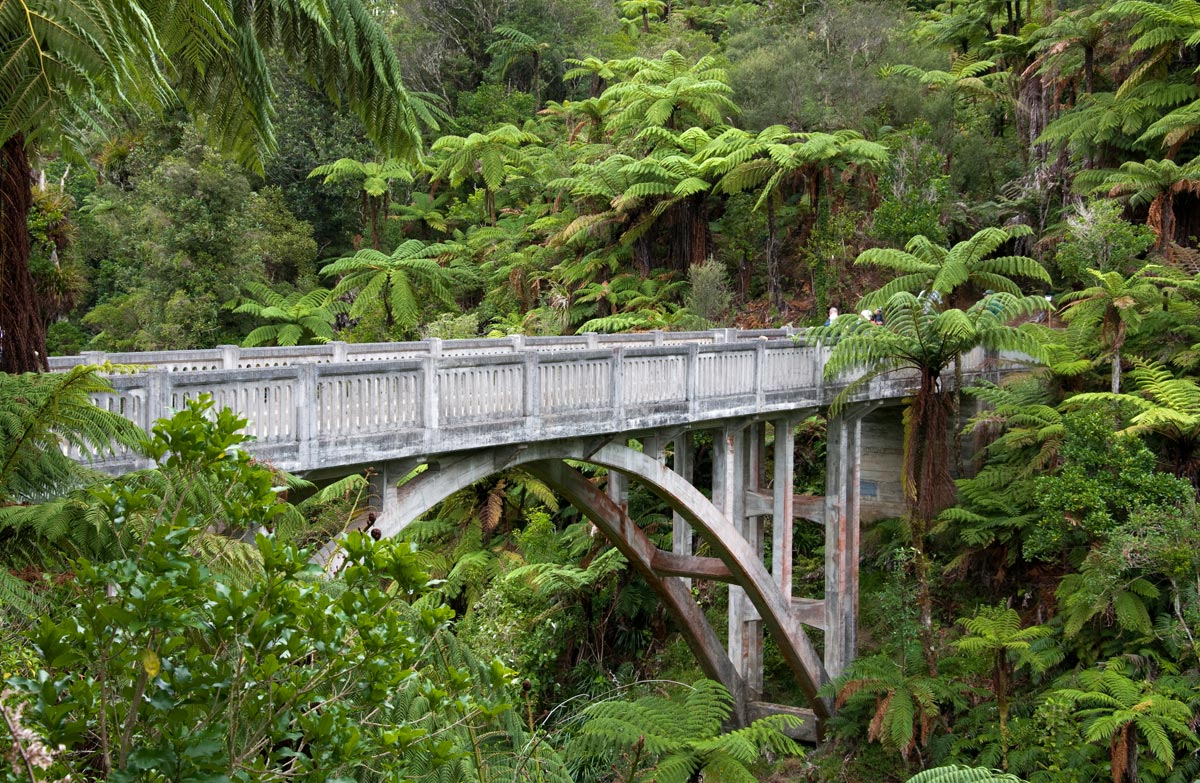 Resultado de imagen de Bridge to Nowhere Walk , Whanganui