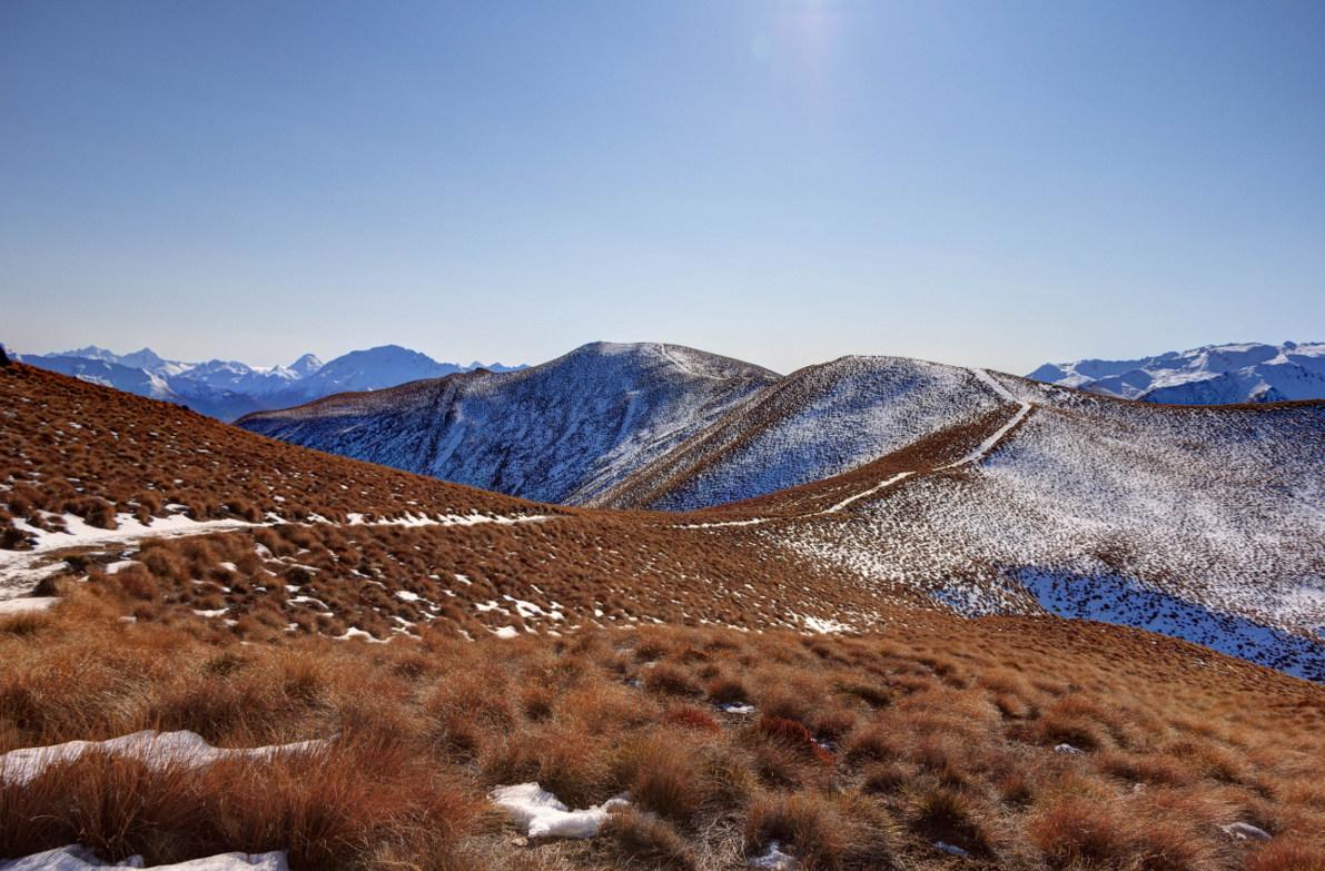 isthmus peak track matatiaho conservation area otago region