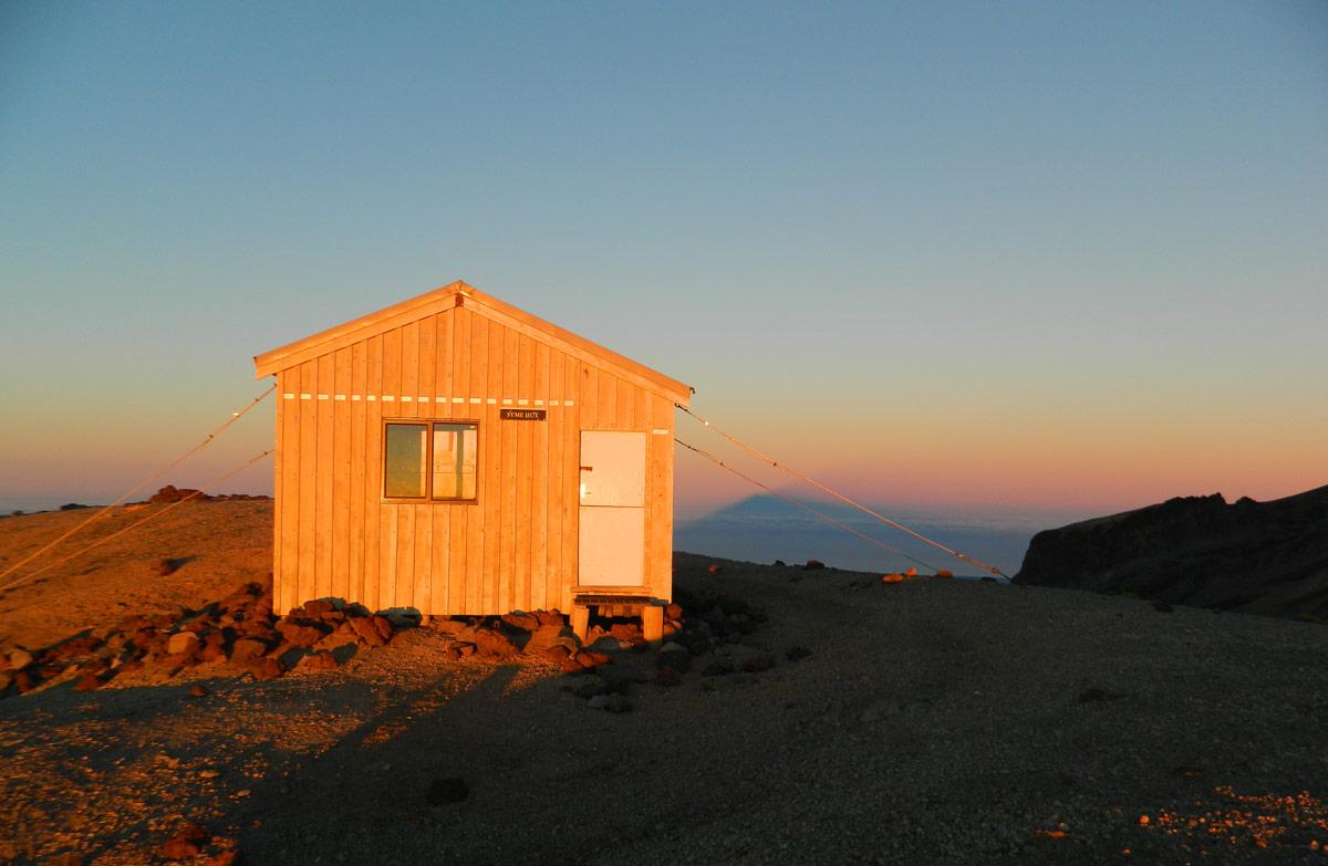 Syme Hut Egmont National Park Taranaki Region