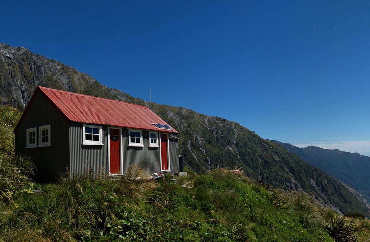 chancellor hut westland tai poutini national park west coast region