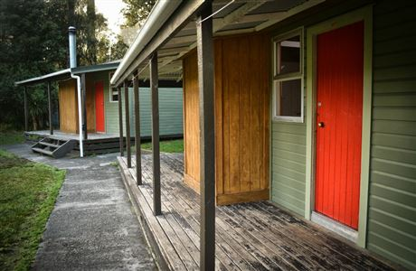 Whirinaki Recreation Camp - cabins.