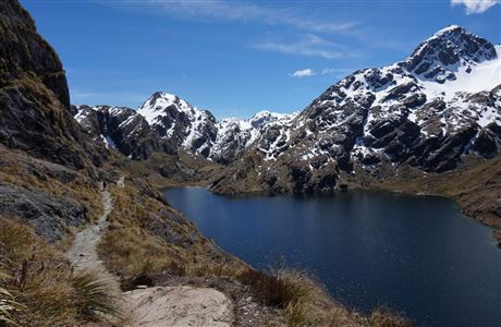 Lake Harris, Routeburn Track.