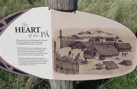Sign about the heart of the pa.