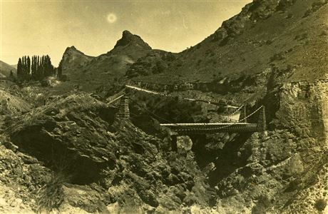 Old Kawarau Suspension Bridge.