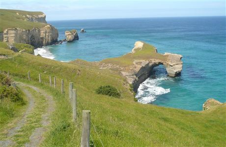 Tunnel Beach Track.