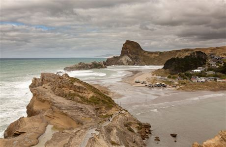View from Castlepoint Lighthouse.