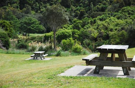 Catchpool Valley picnic area.