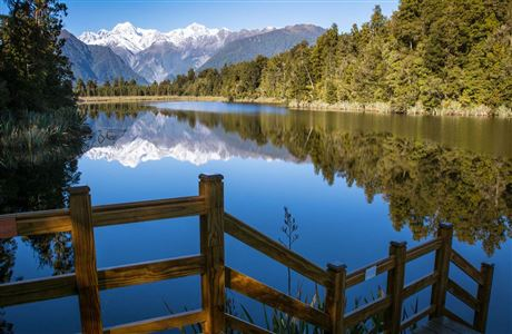 Reflection in Lake Matheson.