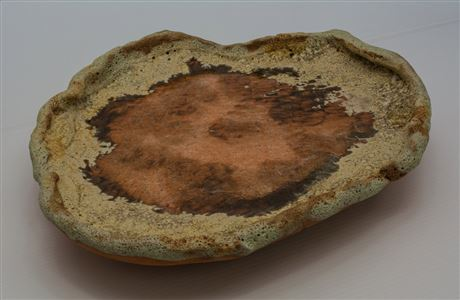 Terracotta and stoneware clay.