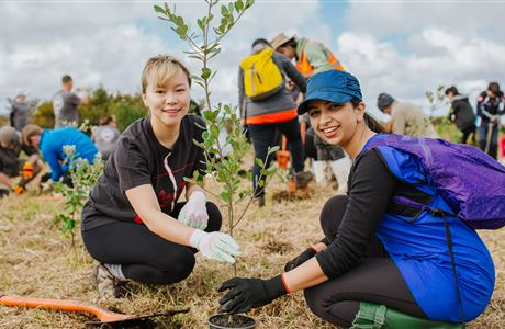 Benefits of volunteering with nature