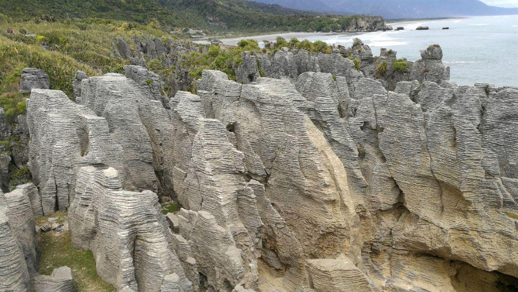 Pancake rocks and blowholes walk paparoa national park west coast pancake rocks and blowholes walk paparoa national park west coast region ccuart Image collections