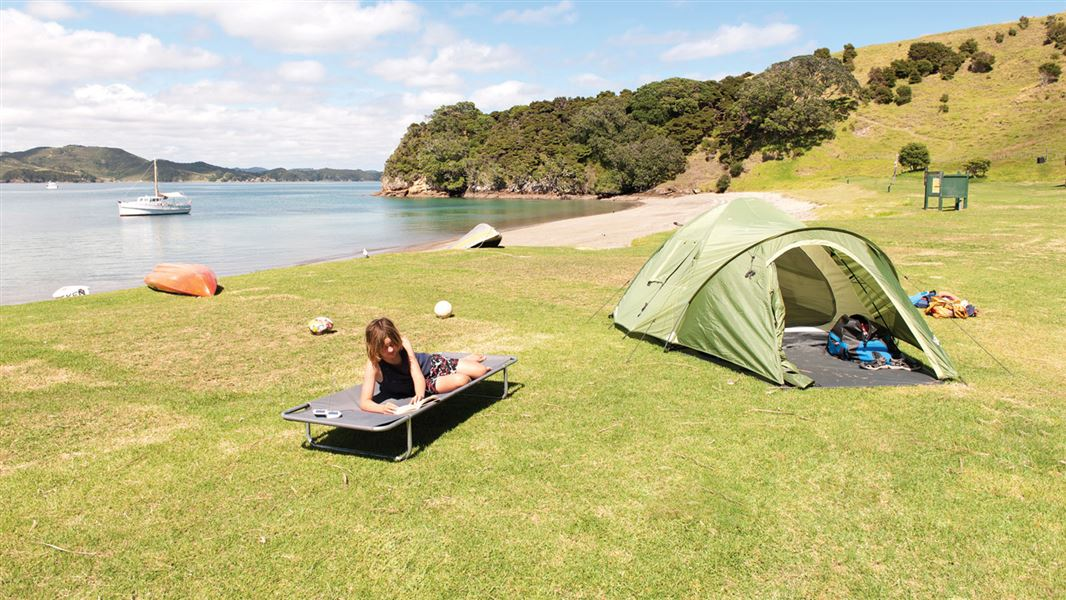 Stay At A Campsite