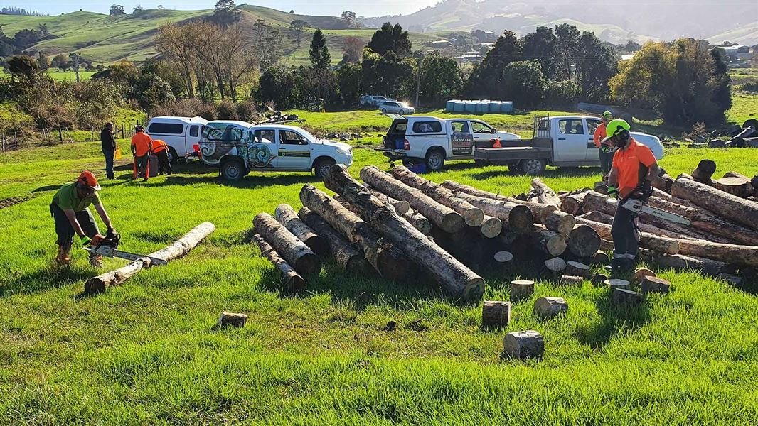 Firewood deliveries for families in need