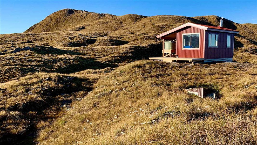 Mataketake Hut: Places to stay in Haast, Paringa and Moeraki rivers area