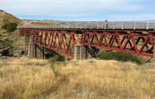 Otago Central Rail Trail: Alexandra area, Otago region